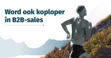 Wat de koplopers in B2B-sales slimmer doen.