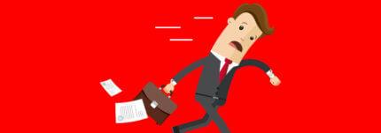 10 manieren om niet te laat op werk te komen
