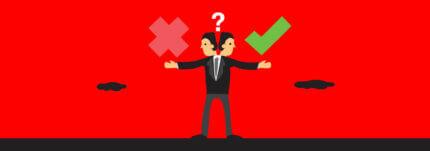 Wat hebben fouten maken en persoonlijkheidsprofielen met elkaar gemeen?